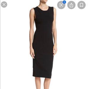 Vince Midi Knit Sheath Dress
